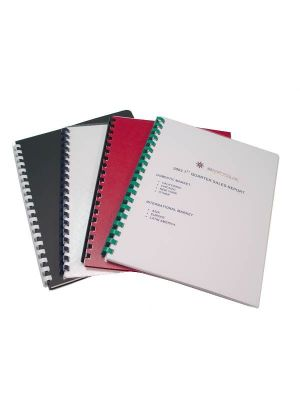 Document Binding Covers / Backing Sheets